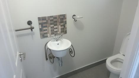 Special basin in guest WC