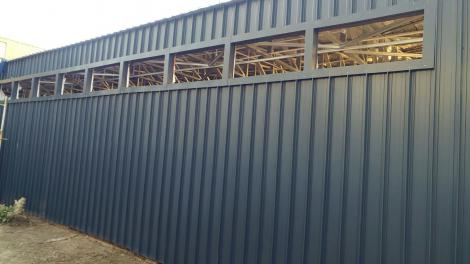 Completed cladding